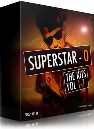 The Producers Choice SuperStar O (SSO) Drum Kits Bundle