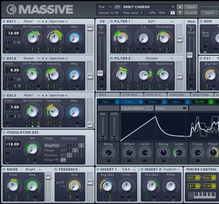 Native Instruments Massive v1.5.1 x86 x64