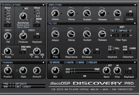 DiscoDSP Discovery Pro v6.8.0 x86 x64