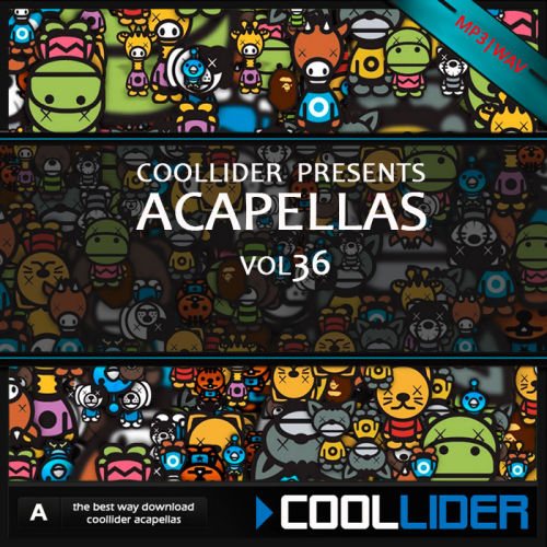 Coollider presents - Acapellas Vol 36
