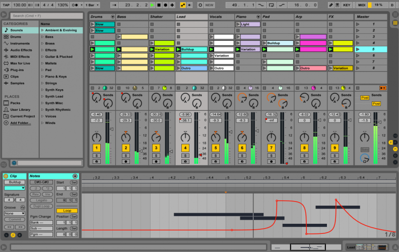 Ableton Live Suite v9.7.5 x86 x64 (Win/OSX)
