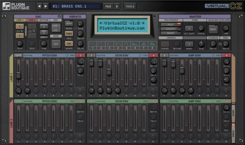 Plugin Boutique VirtualCZ v1.0.2 x86 x64