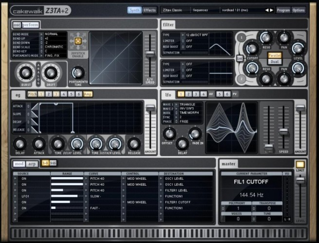 Cakewalk Z3TA Plus v2.2.3.51 x86 x64