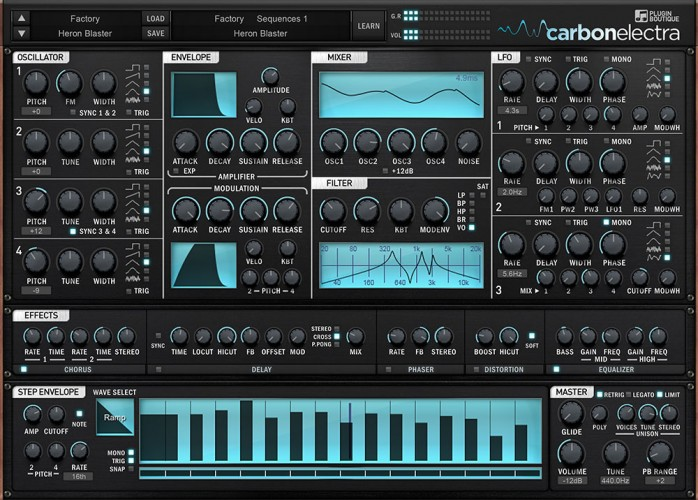 Plugin Boutique Carbon Electra v1.11 x86 x64