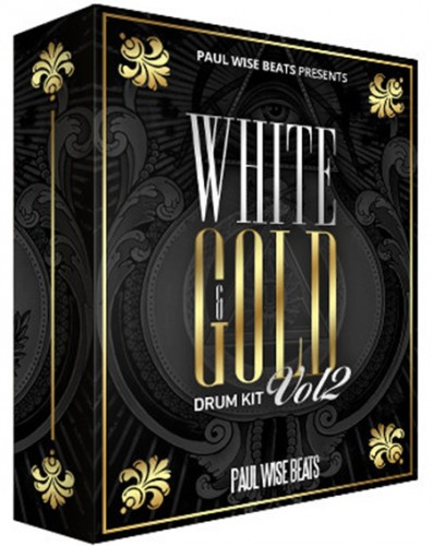 Paul Wise Beats - White and Gold Drum Kit Vol.2