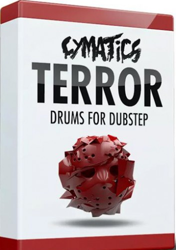 Cymatics Terror Drums for Dubstep