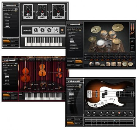 Cakewalk Studio Instruments Suite v1.0.0.12 x86 x64