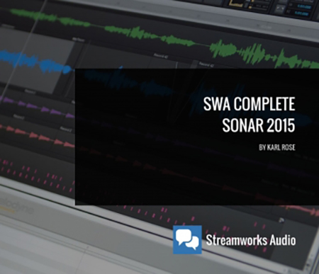 Streamworks Audio Complete SONAR 2015 (ENG)