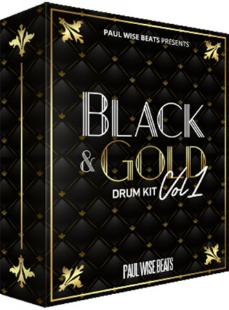 Paul Wise Beats - Black and Gold Drum Kit Vol.1