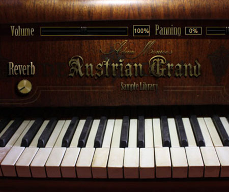 Adam Monroe Music - Austrian Grand Piano V.1.2 (KONTAKT/VST)