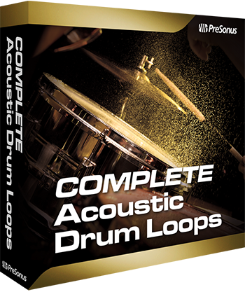 PreSonus Acoustic Drum Loops Pro (Studio One)