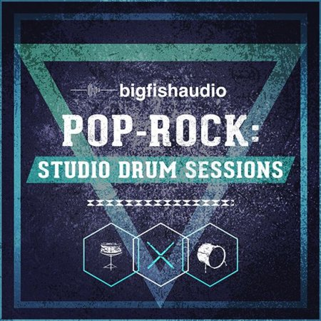 Big Fish Audio - Pop Rock Studio Drum Sessions (KONTAKT)