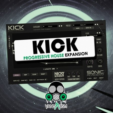 Vandalism Kick Progressive House Expansion For KICK