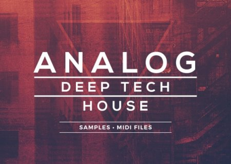 Sample Foundry Analog Deep Tech House