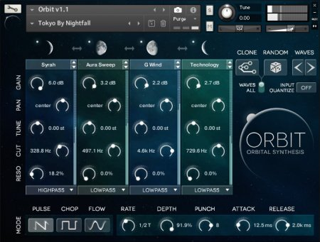 Wide Blue Sound - Orbit V.1.3 (KONTAKT)