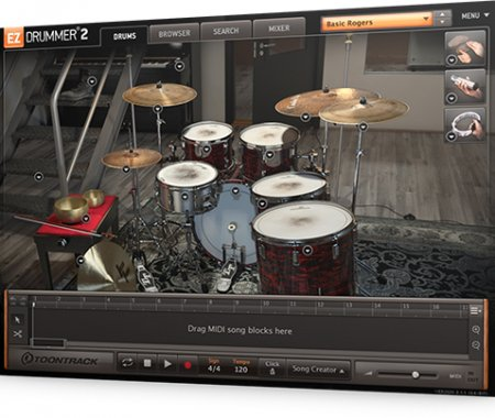 Toontrack EZX Post Rock for EZdrummer 2