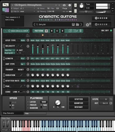 Sample Logic Cinematic Guitars Organic Atmospheres (KONTAKT)
