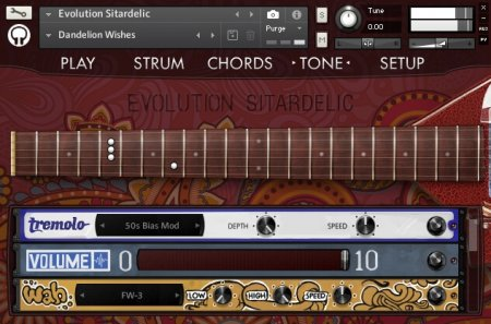 Orange Tree Samples Evolution Sitardelic (KONTAKT)