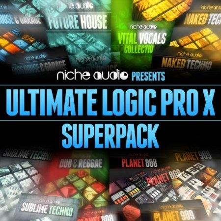 Niche Audio Ultimate Logic Pro X Superpack