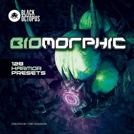 Black Octopus Sound Biomorphic For Harmor