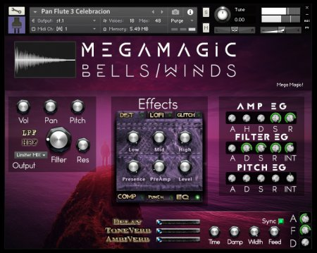 PlugInGuru MegaMagic Bells/Winds (KONTAKT)