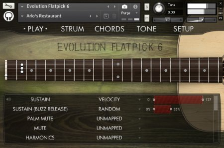 Orange Tree Samples Evolution Flatpick 6 (KONTAKT)