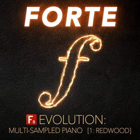 F9 Audio F9 Forte Evolution: Redwood Club Piano (KONTAKT)