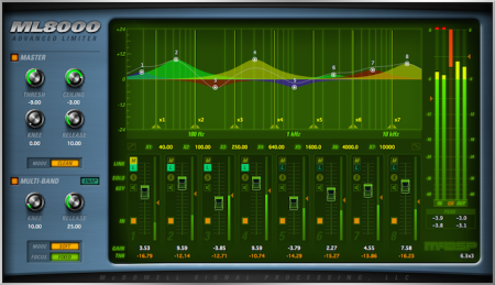 McDSP ML8000 Advanced Limiter v6.3.0.5 x86 x64