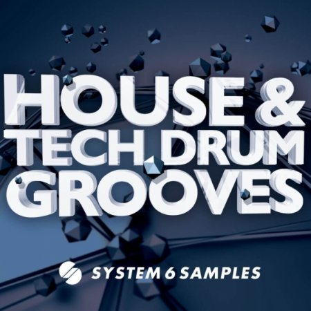 System 6 Samples House and Tech Drum Grooves