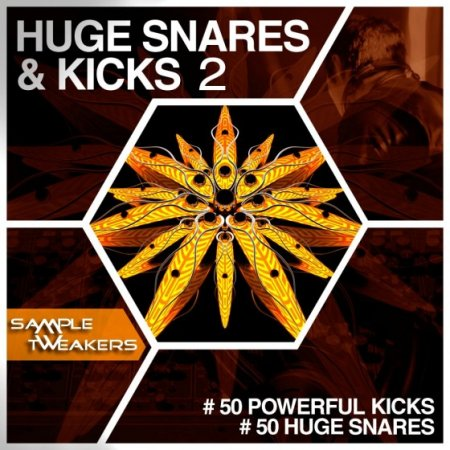Sample Tweakers Huge Snares And Kicks Vol 2