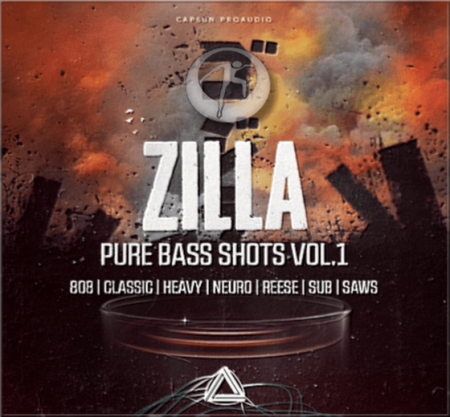 CAPSUN ProAudio Zilla – Pure Bass Shots Vol. 1