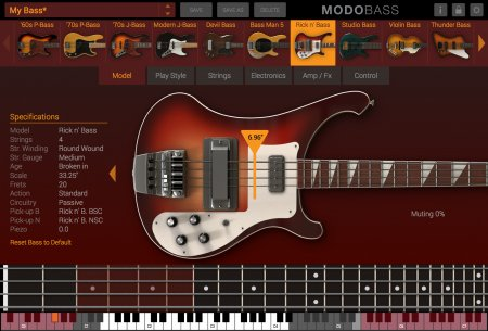IK Multimedia MODO BASS v1.0.2 x86 x64