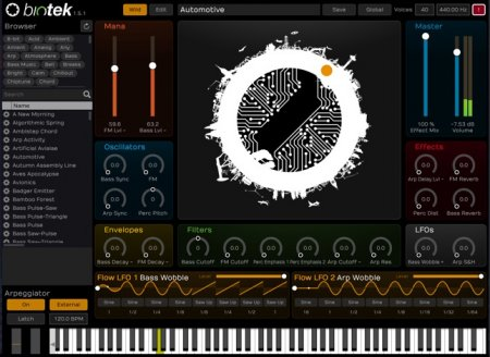 Tracktion Software BioTek v1.5.8 x86 x64