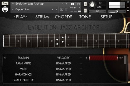 Orange Tree Samples Evolution Jazz Archtop (KONTAKT)