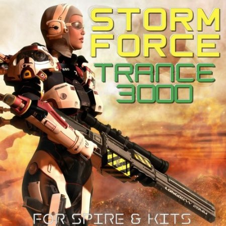 Trance Euphoria Storm Force Trance 3000 For Spire And Kits