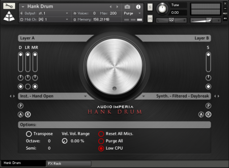 Audio Imperia Hank Drum Exp 1 Cinematic Motion (KONTAKT)
