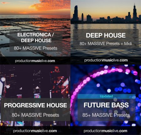 Production Music Live Massive Presets Vol.1-10