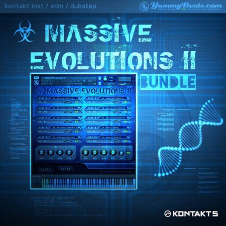 YummyBeats Massive Evolutions II Bundle (KONTAKT)