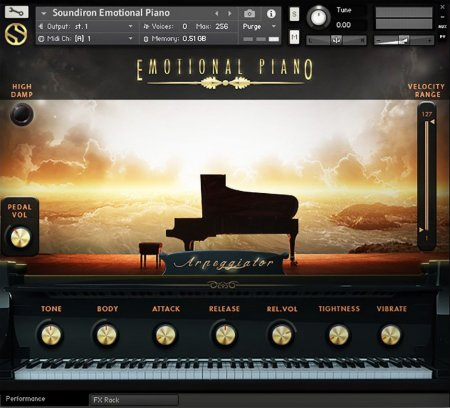 Soundiron Emotional Piano Player Edition v.3.0 (KONTAKT)
