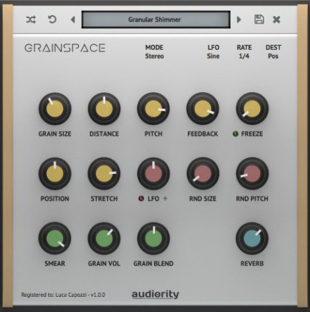 Audiority GrainSpace v1.0.3 x86 x64