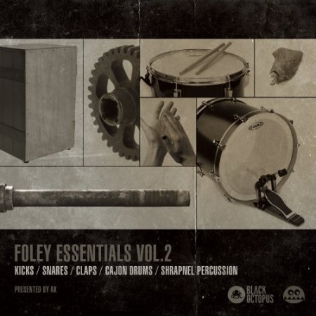 Black Octopus Sound Foley Essentials Vol 2 By AK