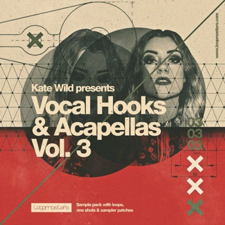 Loopmasters Kate Wild Vocal Hooks and Acapellas Vol 3