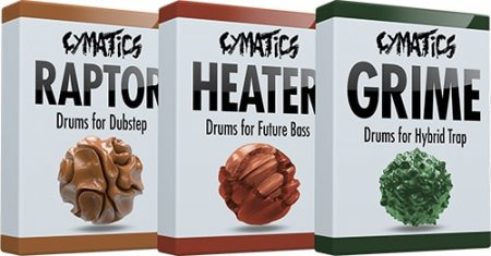 Cymatics Pro Drum Bundle