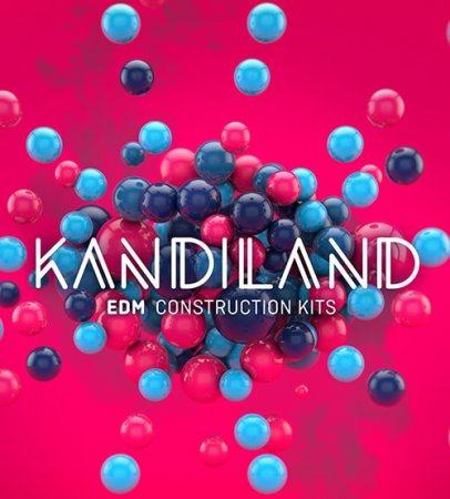 Big Fish Audio Kandiland EDM Construction Kits