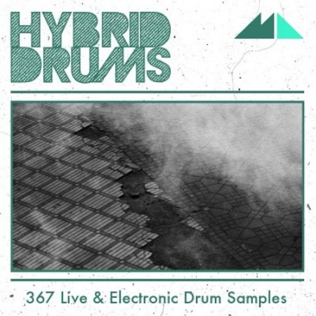 ModeAudio Hybrid Drums Live And Electronic Drum Samples