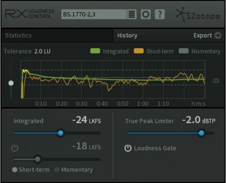 iZotope RX Loudness Control v1.03 x86 x64