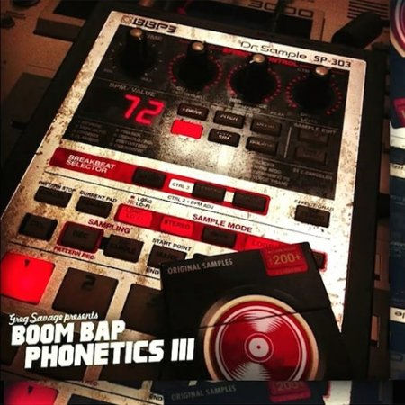 Greg Savage Boom Bap Phonetics Bundle