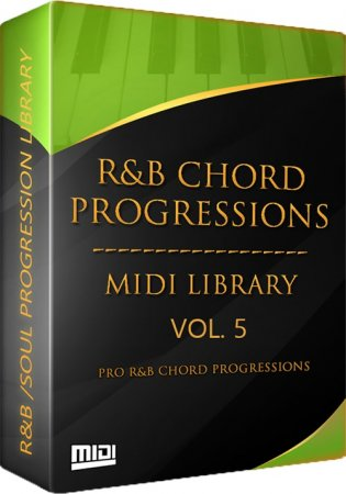 Tru-Urban The R and B Chord Progressions Vol. 5
