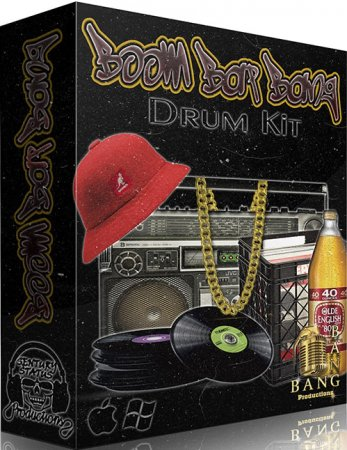 Bang Bang Productions Boom Bap Bang Drum Kit