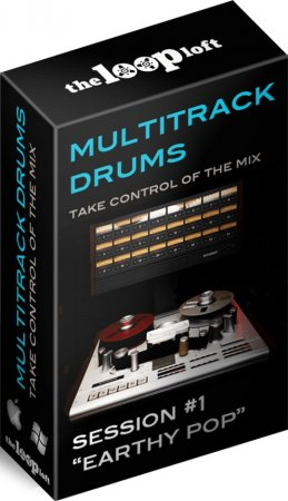 The Loop Loft Earthy Pop Multitrack Drums Session Bundle